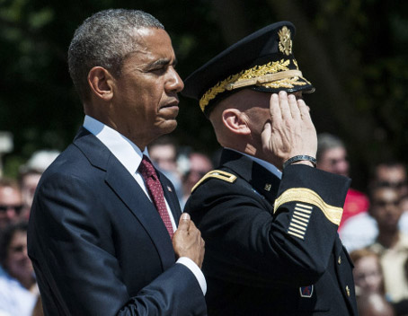 During Memorial Day Speech Obama Chooses to Honor Those on Welfare