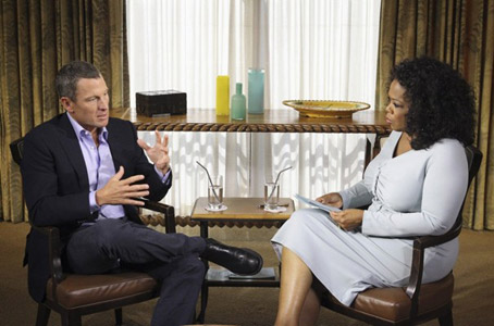 Oprah Admits to Using Ratings Enhancing Drugs, Armstrong never got a word in edgewise