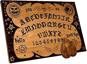 "Ouija Session Reportedly ""Very Fustratting"" for Dyslexic Ghost"