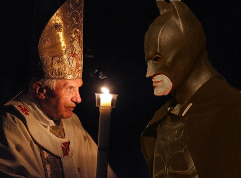 Pope Angers Gotham: Is Batman Working for the Vatican?