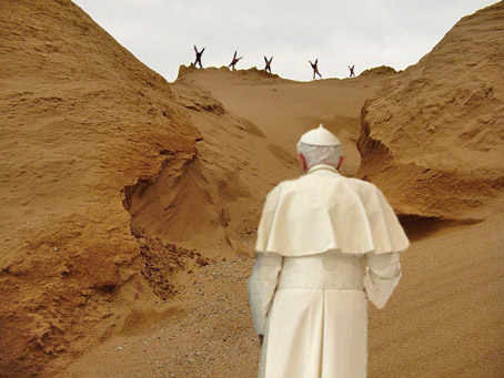 Pope Banished to the Forbidden Zone