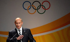 Putin Determined To Butch-Up Olympics