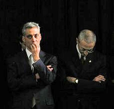 Rahm Emanuel denies any wrongdoing in the Gov. Blagojevich case...Insists he gnawed off fingers to the second knuckle for fun.
