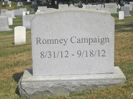 Tomb of the Unknown Candidate, Let no man say he did not give 53%!
