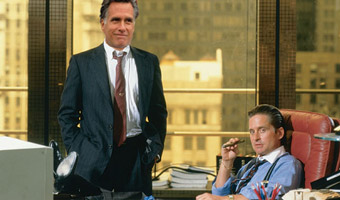 There is growing evidence that Romey makes Gordon Gekko look like a community organizer.