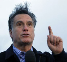 Romney's Barrage of Ambiguous Bullsh*t  Bolsters Brainless Base