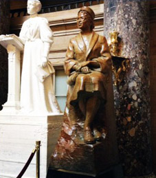 Rosa Parks Statue Moved To Back Of Statuary Hall