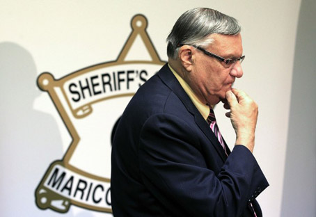 Southwestern Drought Threatens Sheriff Joe's Waterboarding, Will Arizona be forced to outsource torturing immigrants to Colorado?