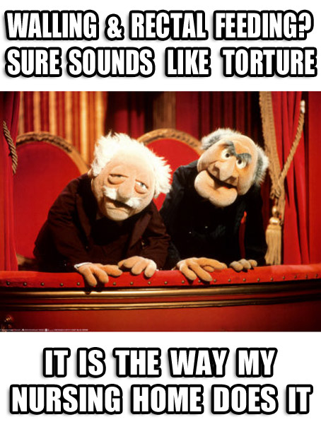 Statler and Waldorf Weigh in on Torture