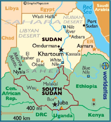 South Sudan Independent! Great, now Africa has 54 countries that SUCK
