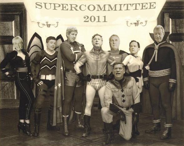 Where is the Supercommittee Now? Who the hell cares?
