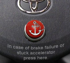 Toyota's new emergency arrest system
