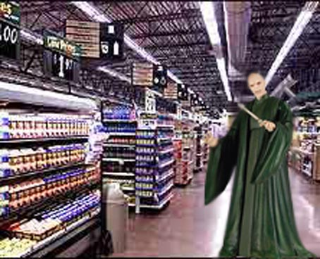 Shop VoldeMart! Where we slash prices...and muggles