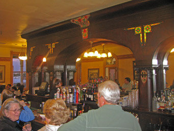 Wyatt Earp's bar, which is actually his bar transported from Tombstone