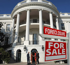 Obama Falls Behind on White House Mortgage Payments