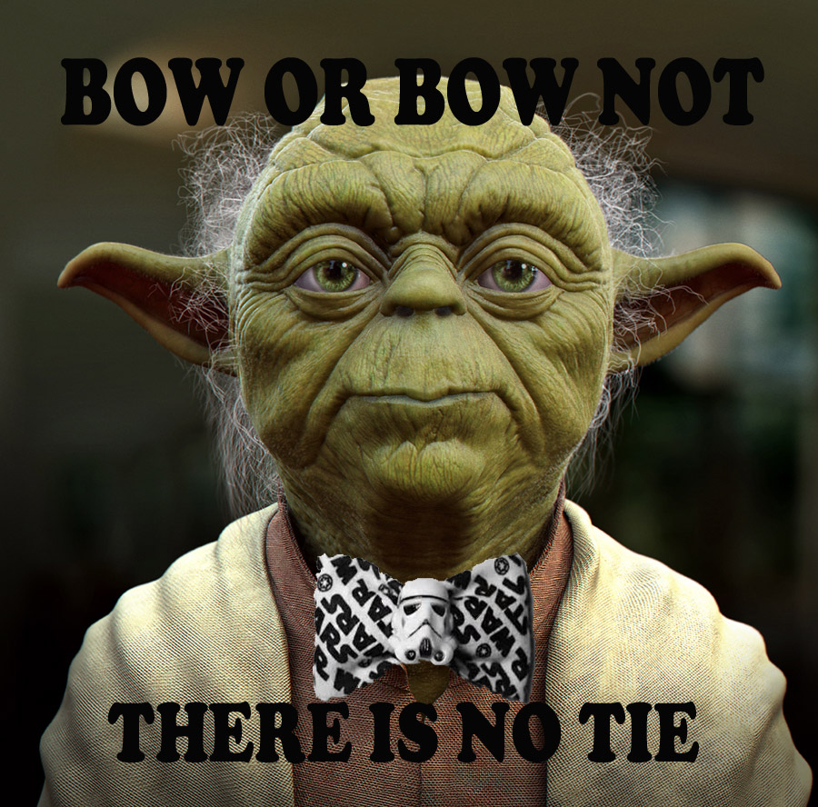 "Yoda to Host Fashion Reality Show, ""Snazzy will you become. Guarantee this I will."""