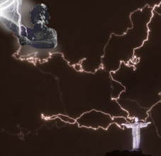 In Rare Show of Force Zeus Blasts Jesus