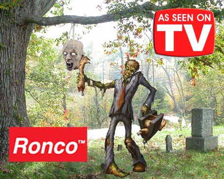 Ronco's Woes Continue with Recall of Zombie Pinata