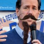 rick santorum with beard