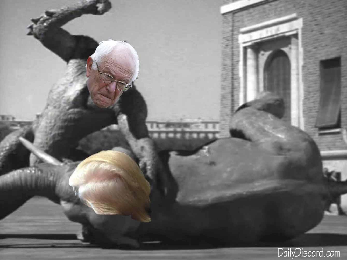 BernieVTrumpML