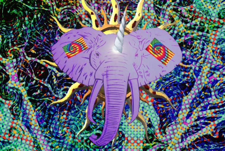 psychedelic_elephant_by_nick_spratt-d84b510