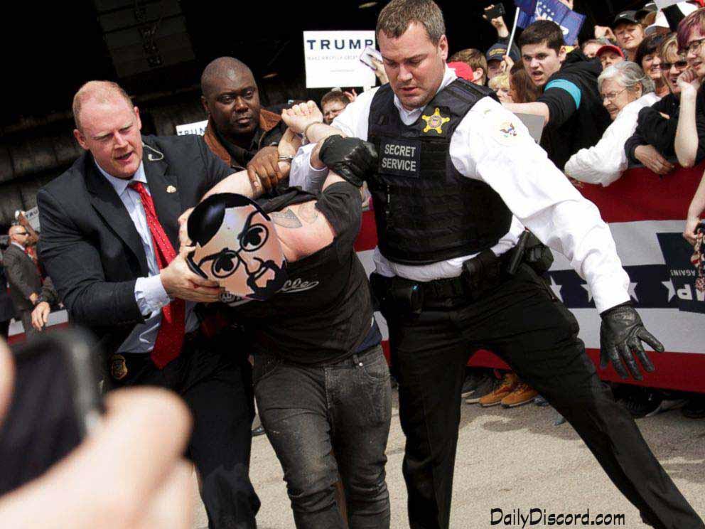 Zano Trump rally
